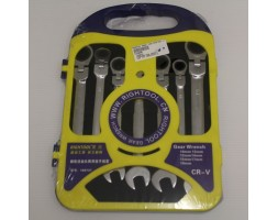 Combination Spanner 180 7PC Geartech Set
